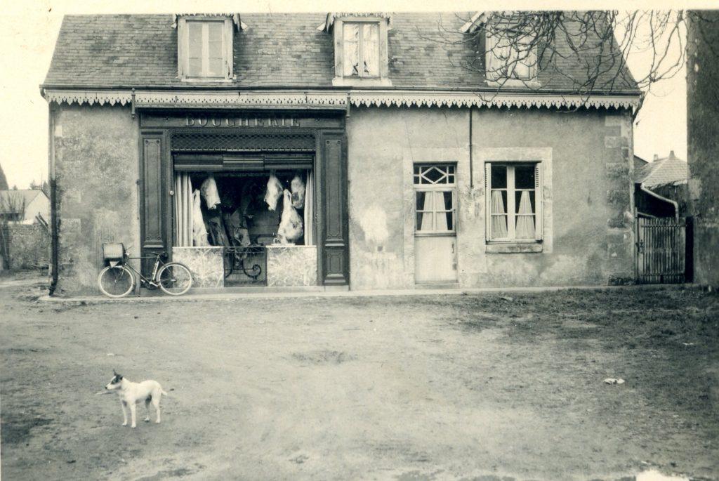 Boucherie vers 1958