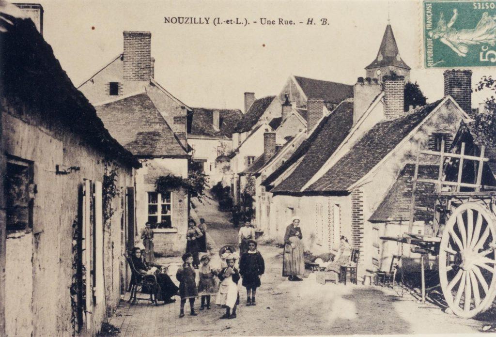 Une rue (Rue de Verdun, rue Robin)