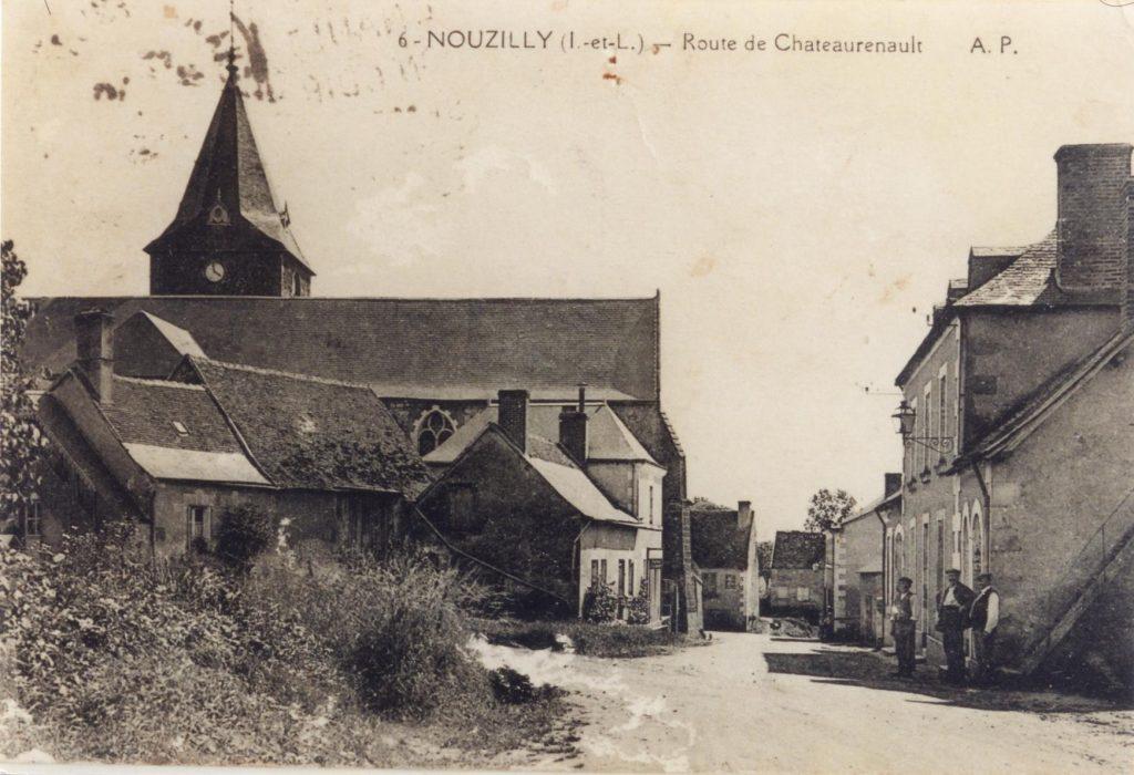 Route de Château-Renault (Rue du Prieuré)