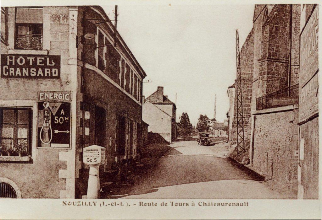 Route de Tours à Château-Renault (Rue du Prieuré)