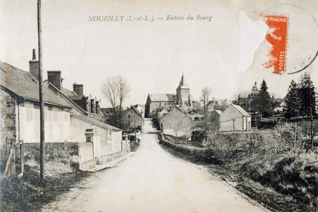 Entrée du bourg (Rue de Beauregard)